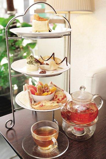 英式下午茶 三层塔茶点别具特色图片