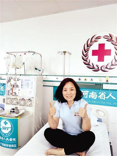 平顶山一白衣天使捐造血干细胞 救素不相识男子