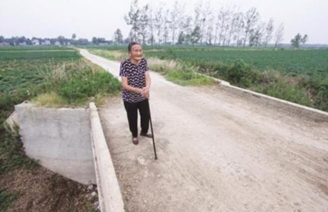 南阳87岁老人修桥铺路造福乡邻 只有一个心愿