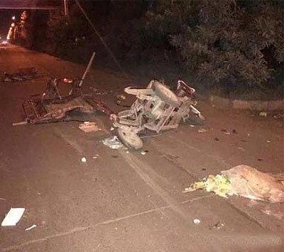 许昌发生一起车祸 致1死1伤
