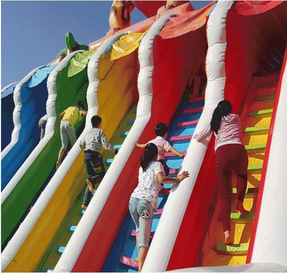 周末去哪玩?空气城堡!石膏彩绘!还有最爱的冰糖葫芦!