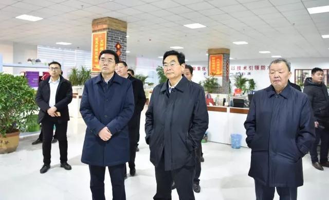 化有勋一行莅临平舆县调研项目和城市建设工作