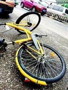 小黄车惹上官司了!用户骑行过程中突然突然摔倒
