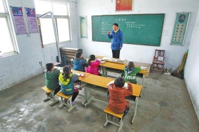 鹤壁一小学教师情系乡村教育 一校一人坚守13年