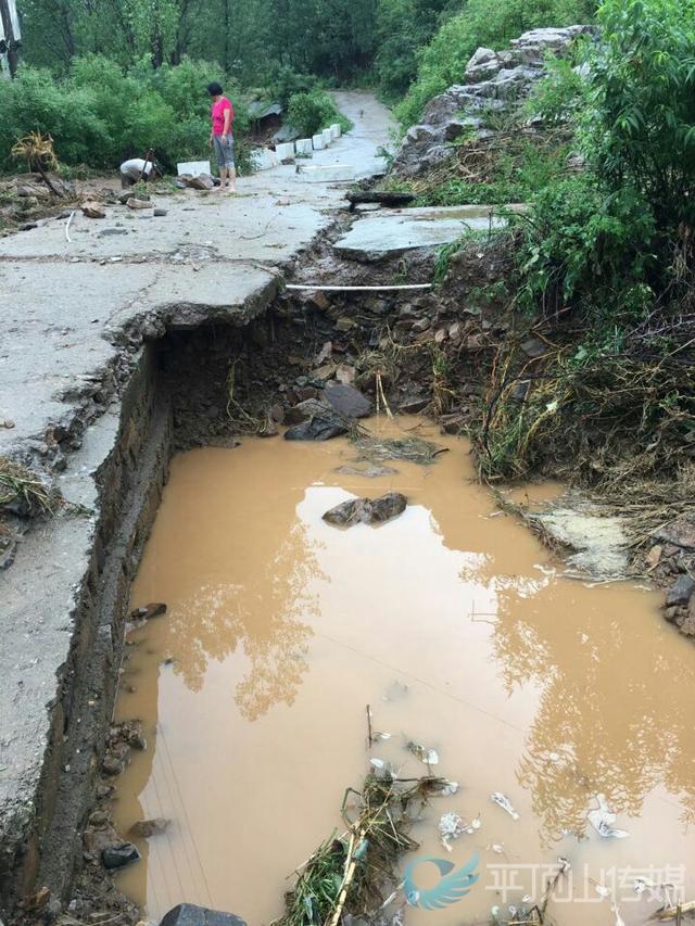 平顶山一县有9个村达到警戒雨量 相关水库泄洪