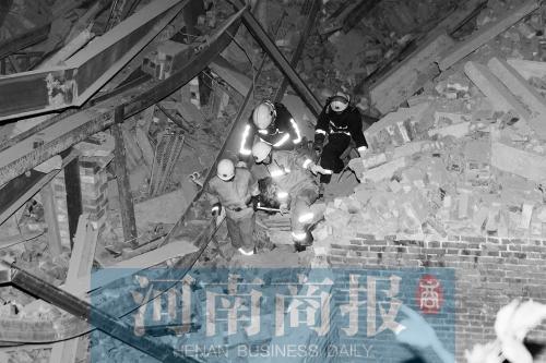 郑州城中村加盖平易近房坍塌 致使15名工人被埋