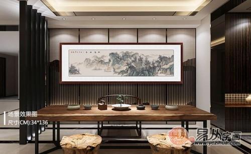 家中靠挂画来提升品位,这样的艺术感家居可是你的菜?