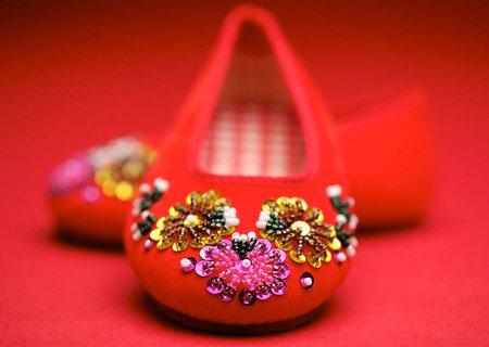 六,旗袍与鞋子的搭配