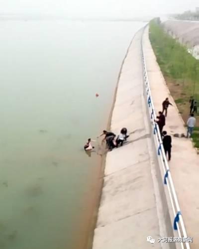 洛阳祖孙三人相继溺水 路过男子将其救起默默离开