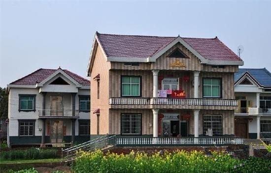 实拍6套最美农村别墅,35万建成,第2最豪为啥却第6建的
