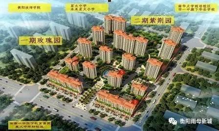 雨母新城二期紫荆园盛大开工