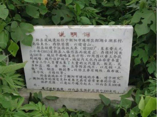 酃县故址重大考古发现,东城国际或最大获益