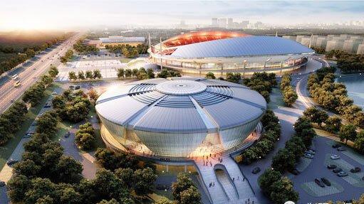 """""""市体育中心主任张慧君在接受记者采访时如此表示."""