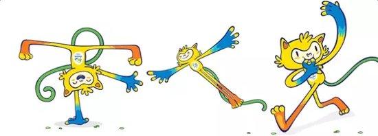 寄托着残奥会顽强不屈 其实回顾历届奥运会 里约奥运会的吉祥物还算不图片