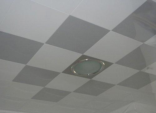 打孔铝扣板吊顶装修铝扣板吊顶图片12