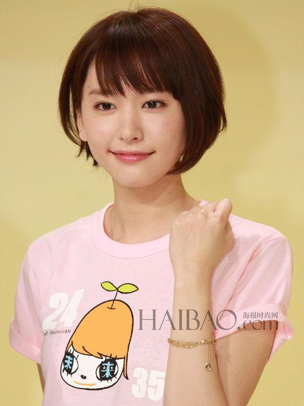 日本女无遮挡_日本女明星告诉你短发女人也可以很美很性感