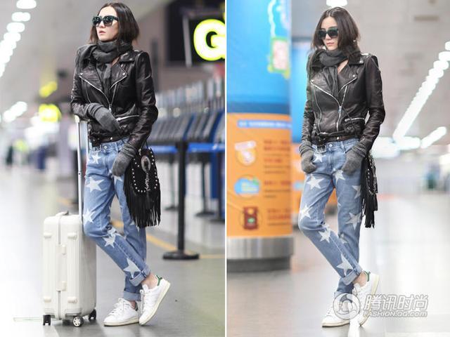 宋佳帅气私服亮相机场 赴米兰开启时装周之旅