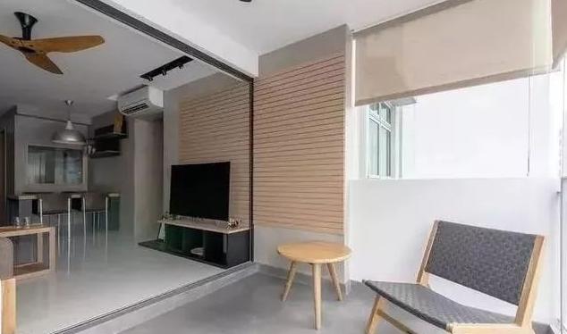 现在流行把阳台包进客厅 立刻多出10平米