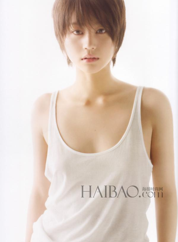日本女明星告诉你短发女人也可以很美很性感