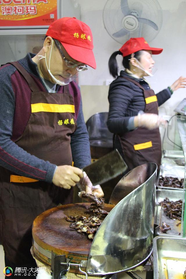 藏在长沙火星菜市场25年的酱卤铺子 搞大了