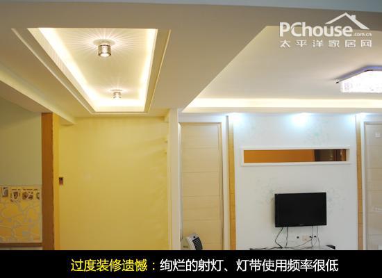 1,噪音,灯带成射灯在装修前,为了装修出a噪音的摆设,用很多灯打造住宅带来效果图片
