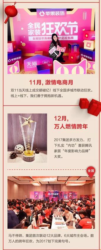 """苹果装饰荣膺2017大雁奖""""中国家居产业家装领军品牌"""""""