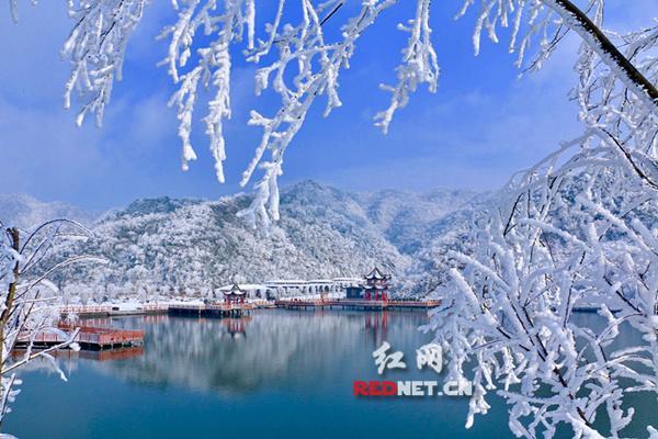永州双牌阳明山万和湖每月景色变幻