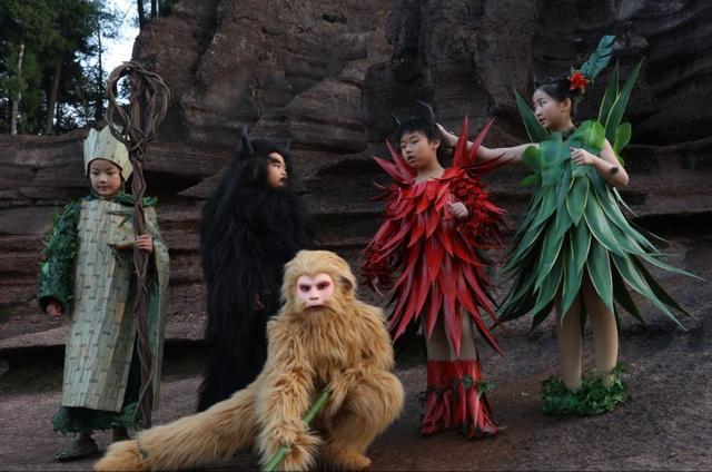 小戏骨拍《西游记之红孩儿》 完美演绎熊孩子养成记图片