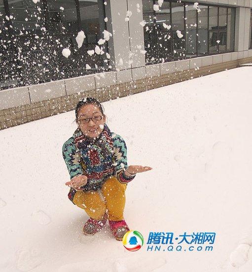 湖南57县市降雪 启动冰冻灾害四级应急响应