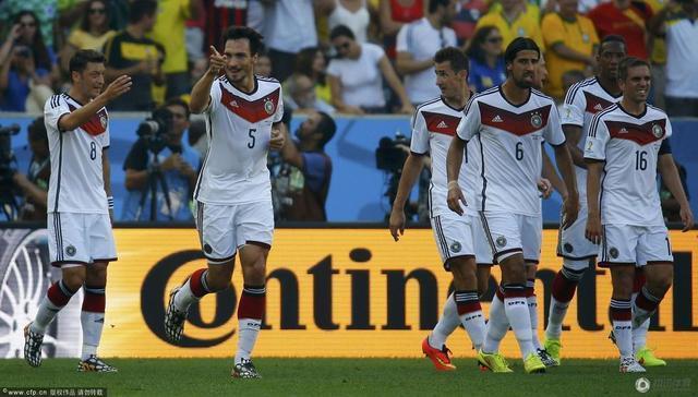 世界杯-德国1-0法国连续4届进4强 铁卫绝杀球