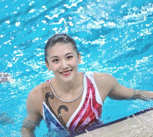 福利|有颜有实力 奥运水漾女神开启美肌霸屏模式
