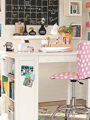 小书柜-桌脚的小书架-儿童房收纳柜的跨空间实用化