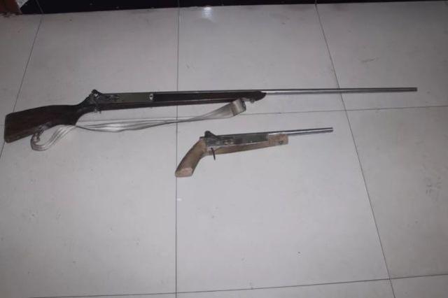 衡阳一男子多次持枪上山打鸟被举报 已被刑拘