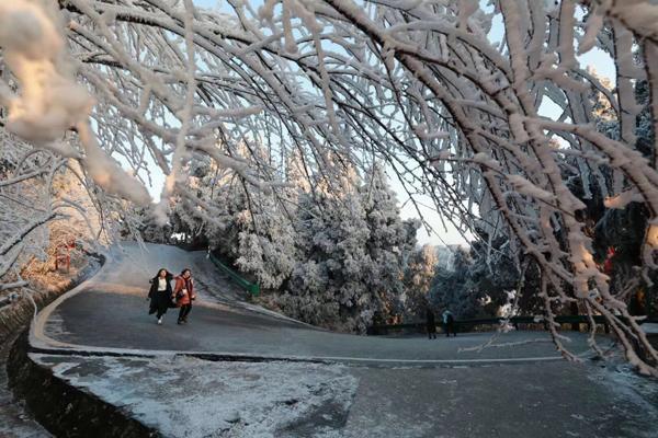 """2017南岳衡山""""冬日恋歌""""浪漫摄影赛正式启动"""