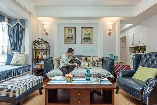 长沙四口之家爱上美式小清新 精致生活越过越舒心