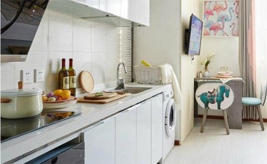 富有生活气息的小居室 每一天都有小惊喜