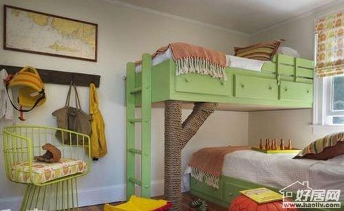 11款上下铺儿童房设计