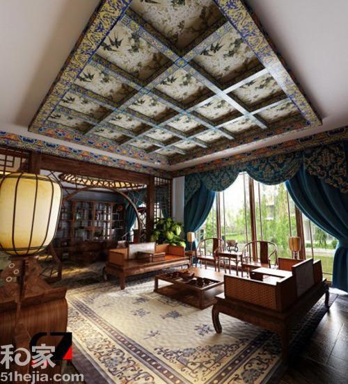 中国风传统窗户 20图品鉴新中式装修效果图片
