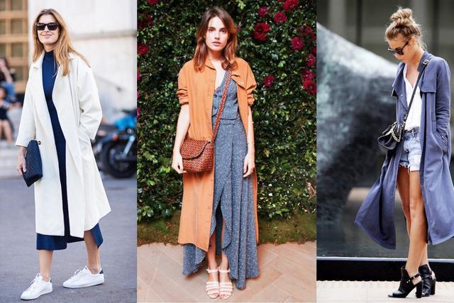 早春经典长外套 哪个颜色你最爱?
