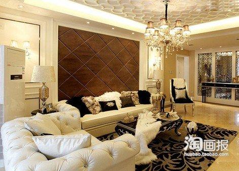 编者按:说到欧式风格的装修案例,很容易让人联想到金碧辉煌的景象。然而欧式风格其实也可以明亮并且奢华,下面小编为大家整理明亮奢华的欧式风格客厅精装修效果图,让你在明亮的奢华空间里沉醉。