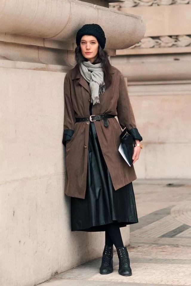 冬天也想穿裙子 又暖又时髦的穿法都在这里了