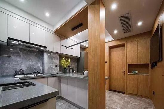 59m²混搭两室 就餐区打造成了日本小餐馆