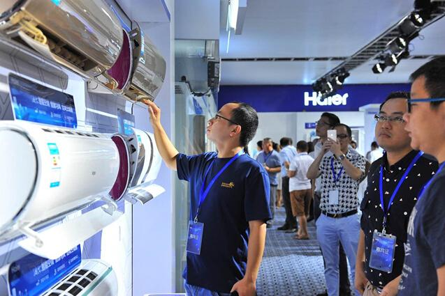 海尔自清洁空调年销100万套获Leader创新奖