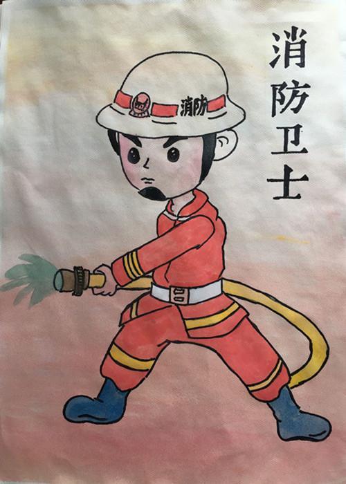 """南岳""""我是小小消防员儿童消防作文,绘画竞赛""""活动图片"""