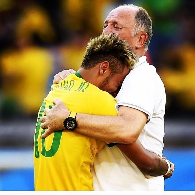 世界杯-巴西点杀智利进8强 内马尔罚中关键球
