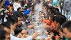 贵州千人同享牛瘪宴