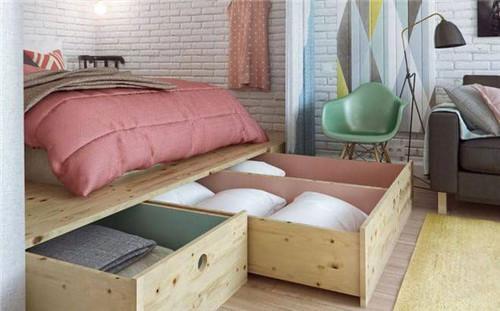 案例赏析|45平米的小户型 客厅卧室厨房装修