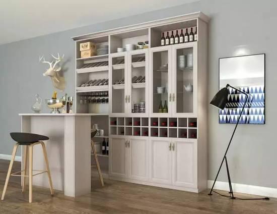 家里有一款这样的酒柜 谁还会去酒吧那鬼地方