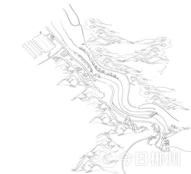 """郴州东江湖有了新""""导游"""" 首批手绘地图发行"""