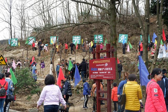 海尔智能空调植树节为南岳植下新绿